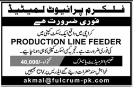 Fulcrum Private Limited Jobs